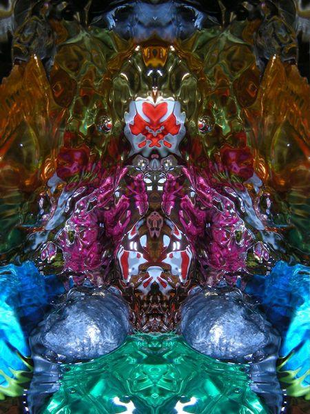 Reflexion, Wasserspiele, Fantasie, Mystik, Farben, Komposition