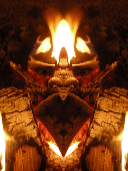 Feuer, Natur, Spiegelbild, Experimentell, Flammen, Elemente