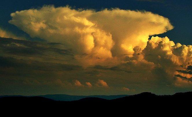 Dämmerung, Sonne, Abend, Wolken, Gelb, Himmel