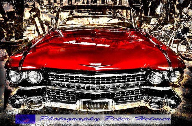 Amerika, Cadillac, Oldtimer, Auto, Fotografie