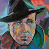 Porträtmalerei, Modern, Zeitgenössische kunst, Expressive malerei