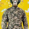 Menschen, Nouveau, Krieg, Affe