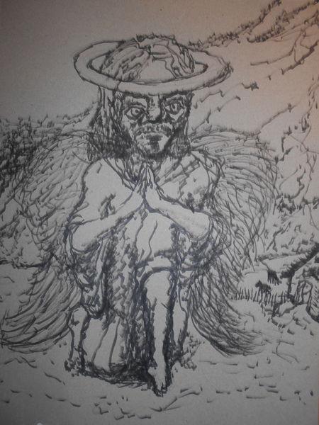 Angel, Gott, Engel, Zion, Berge, Zeichnungen