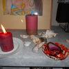 Kerzen, Liebe, Gott, Pinnwand