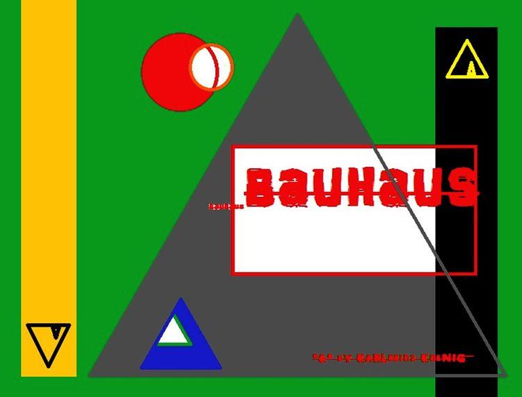Bauhaus, Kandinsky, Johannes itten, Bauhaus stil, Digitale kunst