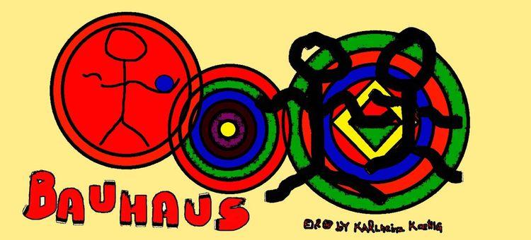 Bauhaus, Kandinsky, Johannes itten, Bauhausstil, Digitale kunst
