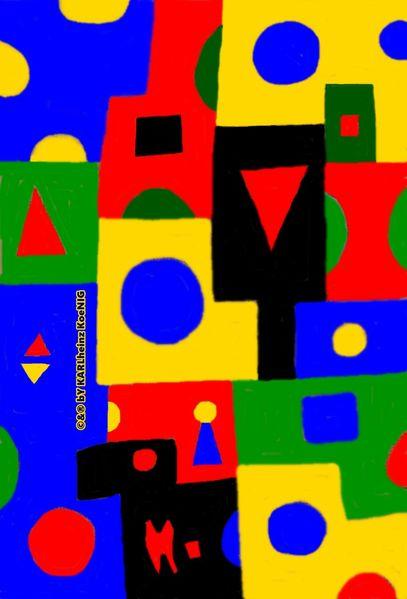 Bauhaus, Kadinsky, Johannes itten, Farbenlehre, Digitale kunst