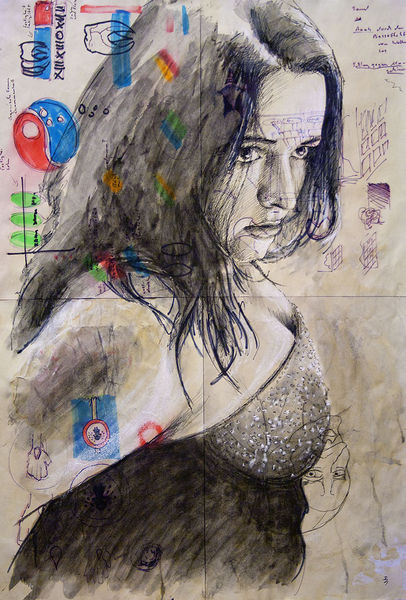 Portrait, Illustrationen, Ultraviolet