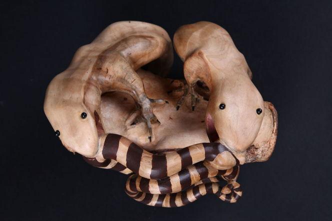 Holz, Tiere, Dekoration, Schnitzkunst, Skulptur, Natur