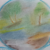 Braun, Baum, Gelb, Landschaft