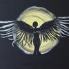 Licht, Ende, Acrylmalerei, Schwarz