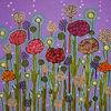 Blumen, Blüte, Dezemberfrühling, Malerei