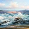 Brandung, Wasser, Welle, Meerlandschaft