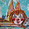 Bunt, Köln, Dom, Clown