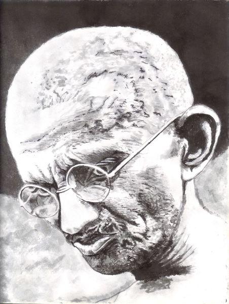 Mann, Augen, Zeichnung, Falten, Ohr, Brille