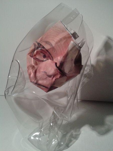 Verpackung, Geschenkidee, Satire, Verpacken, Beuys, Portrait