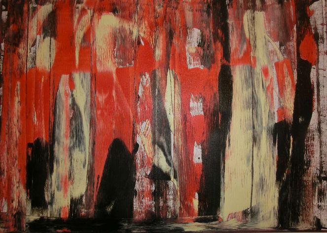 Spachtel, Malerei