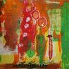 Schwamm, Spachtel, Menschen, Malerei