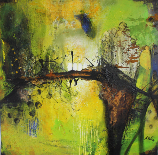 Malerei, Mischtechnik, 2015