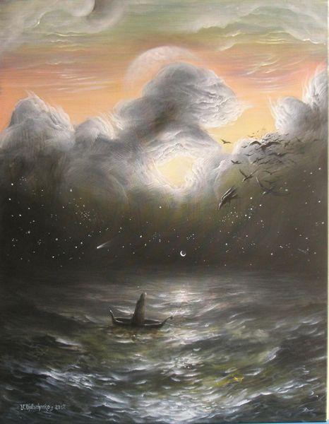 Unendlichkeit, Wahnsinn, Surrealm, Vogel, Wolken, Epic