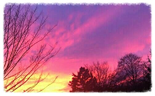 Digitale kunst, Sonnenuntergang