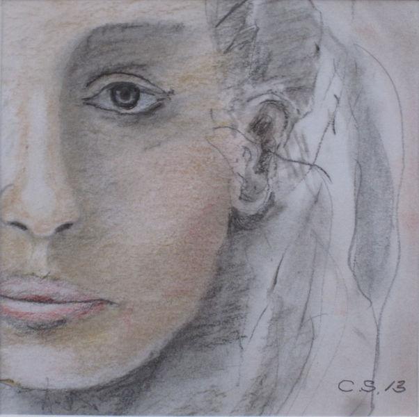 Zeichnungen, Zyklus, Menschen, Frau