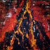 Malerei, Eruption