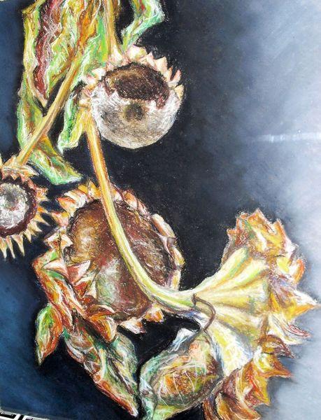 Sonnenblumen, Malerei