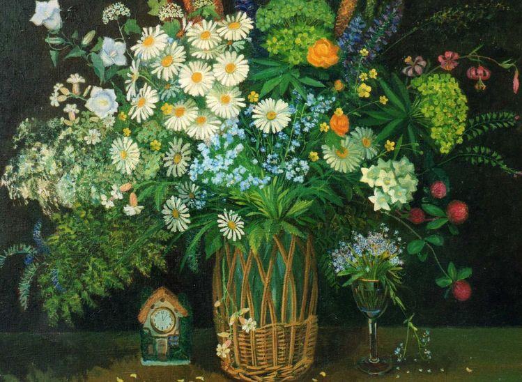 Aquarell, Meine bilder, Blumen