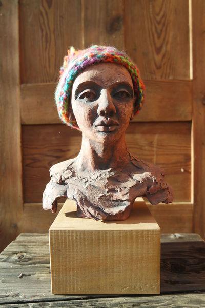 Büste, Akt, Skulptur, Frau, Figur, Keramik