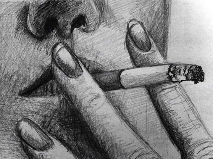 Gift, Sucht, Rauchen, Zeichnungen