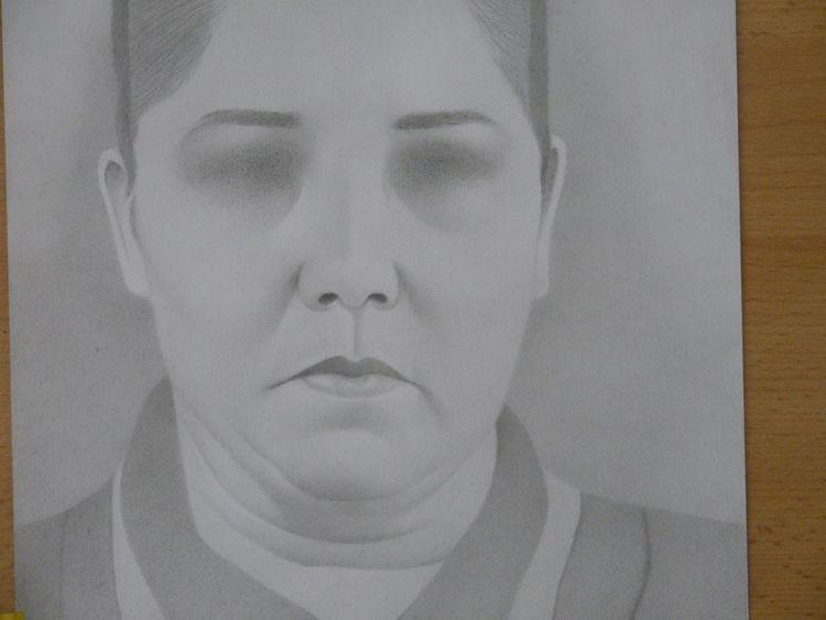 Missbrauch, Blind, Oma, Zeichnungen, Arbeit