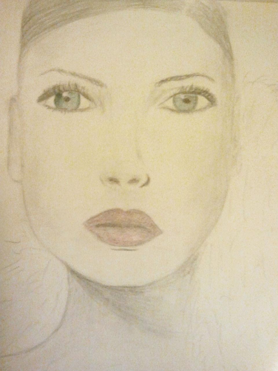 Kunstnet werke zeichnungen portrait schönheit der jugend