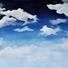 Wolken, Weiß, Himmel, Blau