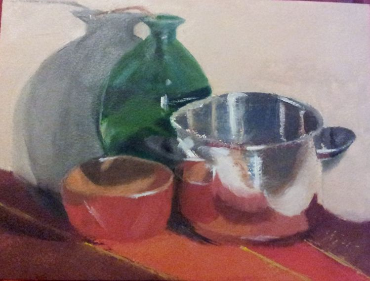 Gegenständlich, Malerei, Ölmalerei, Stillleben