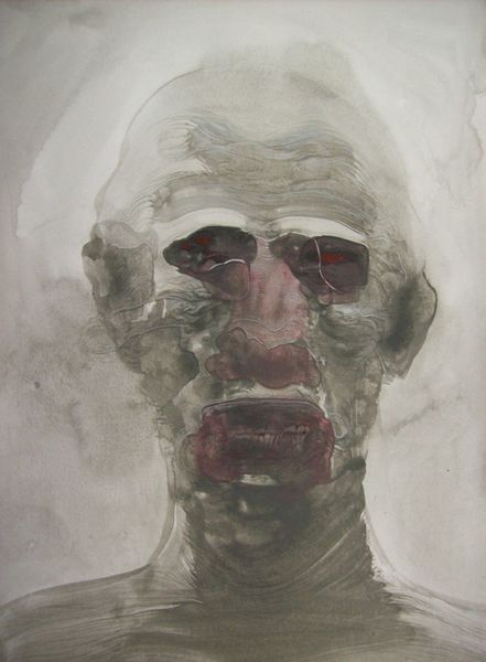 Schön, Portrait, Selbstportrait, Surreal, Monster, Malerei
