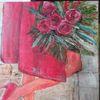 Mantel, Ausschnitt, Rose, Frau