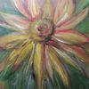 Acrylmalerei, Bunt, Malerei, Sonnenblumen
