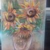 Gelb, Herbst, Stimmung, Acrylmalerei