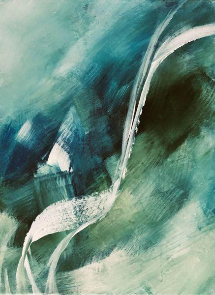 Woche, Grün, Welt, Malerei