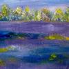 Baum, Himmel, Heide, Malerei