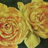 Pflanzen, Ölmalerei, Tulpen, Blumen
