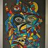 Augen, Fantasie, Gestaltung, Abstrakt