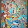 Fisch, Bunt, Abstrakt, Fantasie