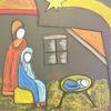 Begegnung, Leuchten, Mutter, Kind