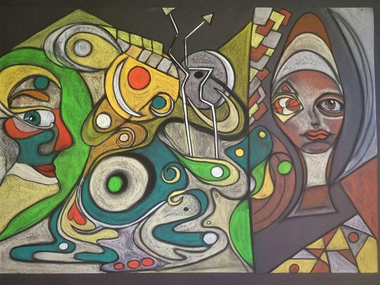 Augen, Kopf, Gesicht, Abstrakt, Mund, Fantasie