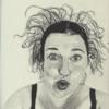 Diverse schwarzstifte, Schwägerin, Skizzenbuch, Zeichnungen