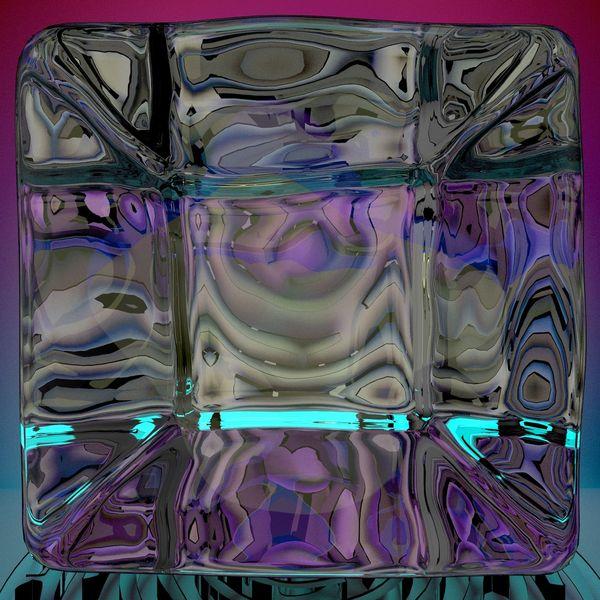 Lichtbrechung, Spiegelung, 3d, Blender, Digitale kunst