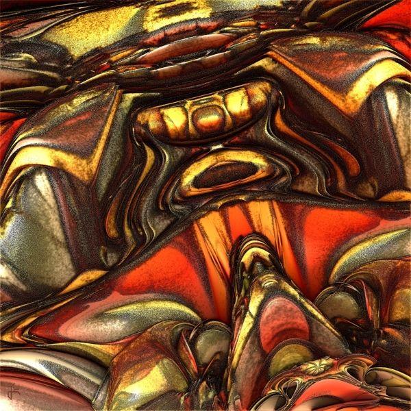 Mandelbulb, Fraktalkunst, Digital, Digitale kunst