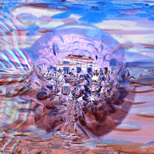 Digital, 3d, Mandelbulb, Fraktalkunst, Digitale kunst